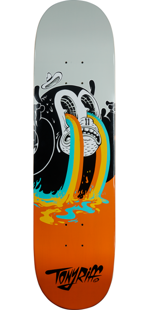 I See Colours Skateboard Deck