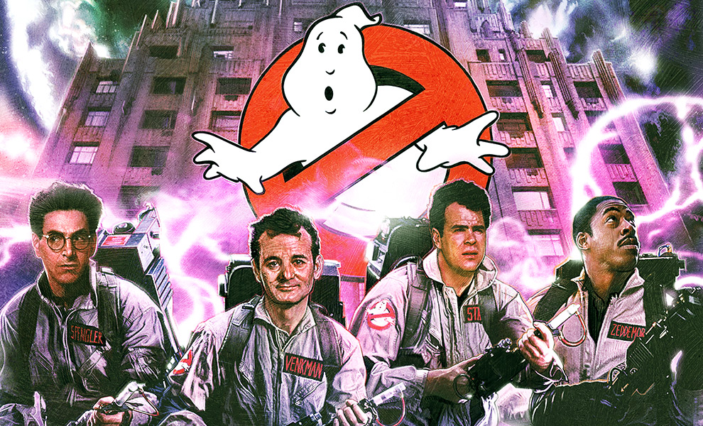 Gallery Feature Image of Ghostbusters Art Print - Click to open image gallery