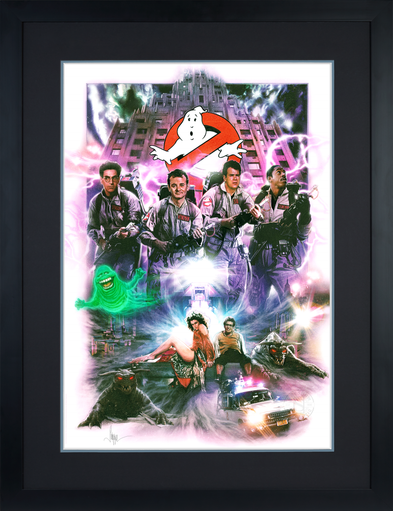 Ghostbusters Art Print -
