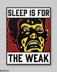 Gallery Image of Sleep is for the Weak Collectible Pin