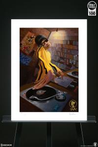 Gallery Image of The DJ Bruce Lee Variant Art Print