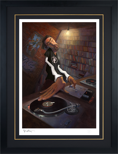 Sideshow Collectibles The DJ Art Print
