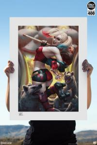Gallery Image of Harley Quinn: Hell on Wheels! Art Print