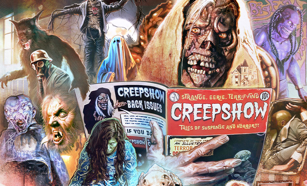 Gallery Feature Image of Creepshow Art Print - Click to open image gallery