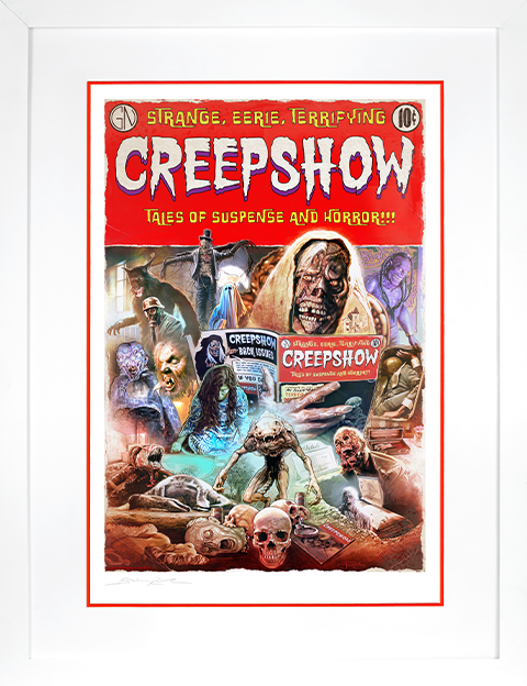 Brian Rood Creepshow Art Print