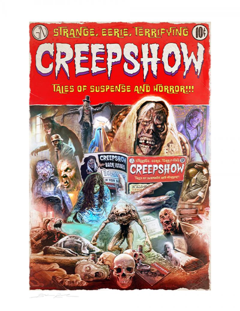 Creepshow Art Print -