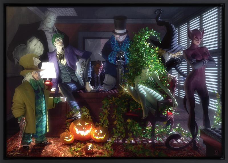 Batman: The Long Halloween Art Print -