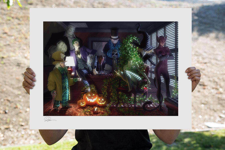 Batman: The Long Halloween Art Print feature image