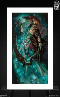 Gallery Image of Death Ascending Art Print