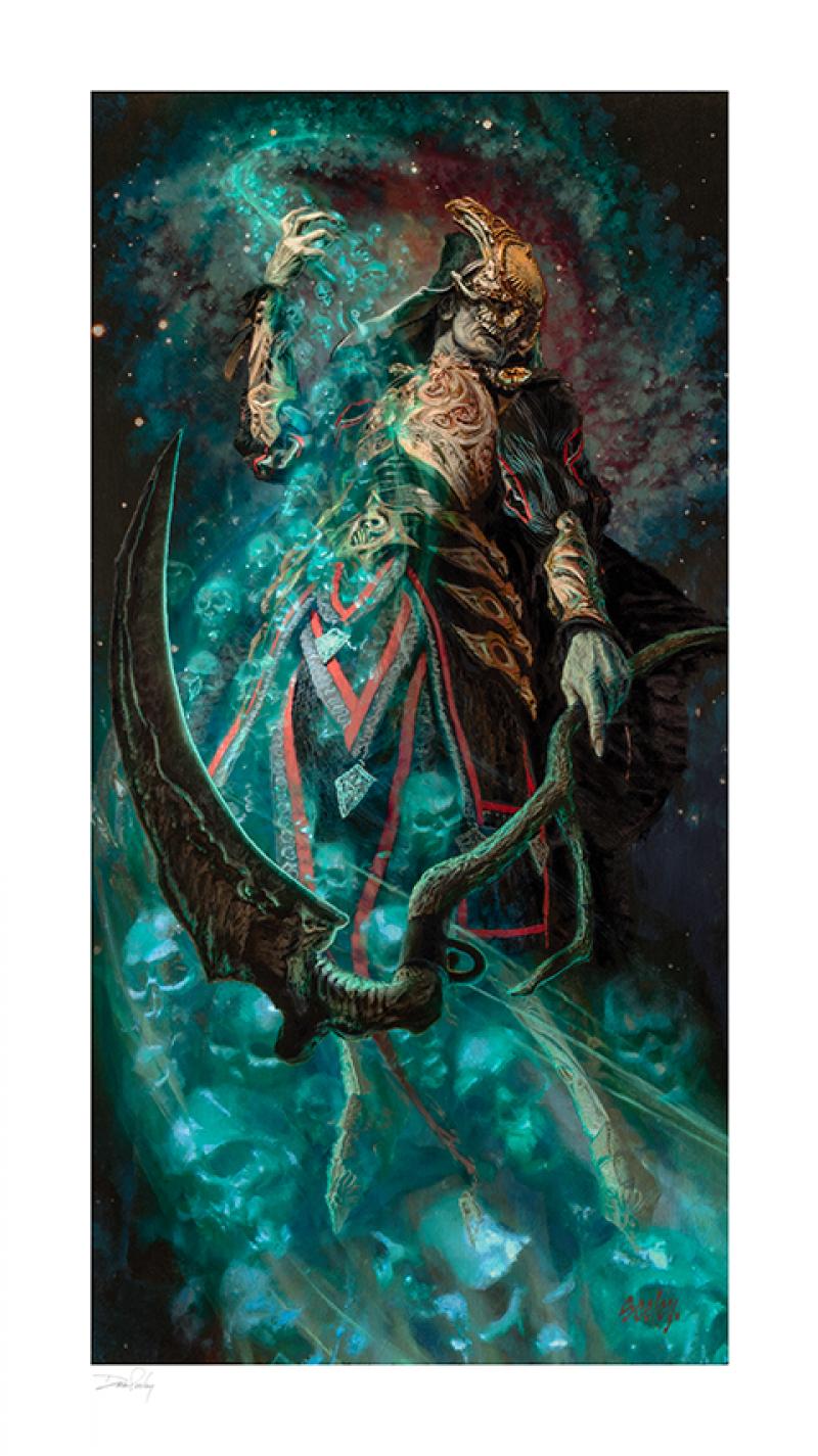Death Ascending Art Print -
