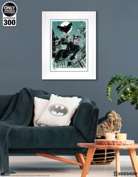 Gallery Image of The Getaway: Batman & Catwoman Art Print