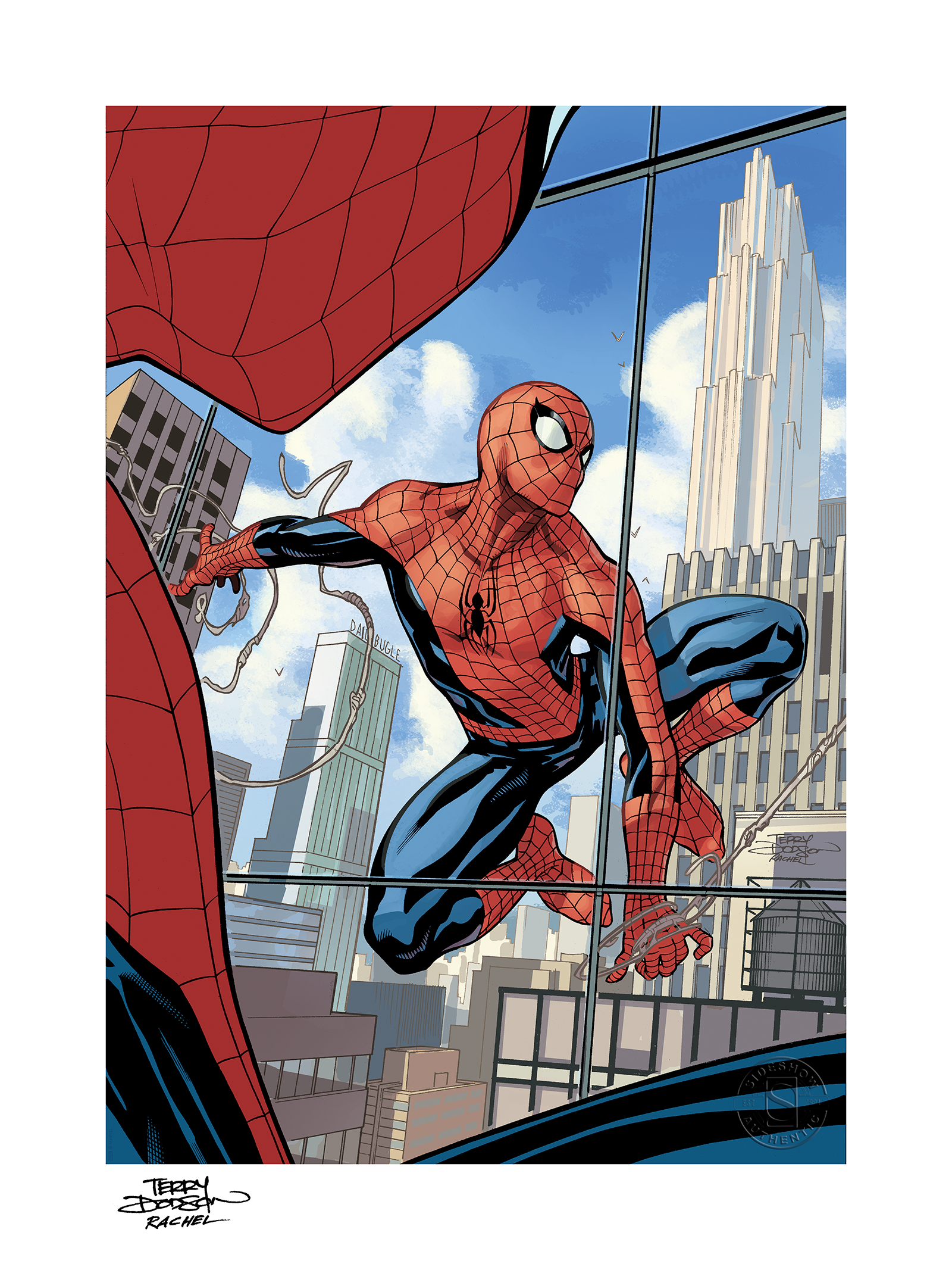 Sideshow Collectibles The Amazing Spider-Man #800 Art Print