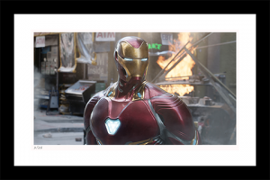 Iron Man NYC Art Print