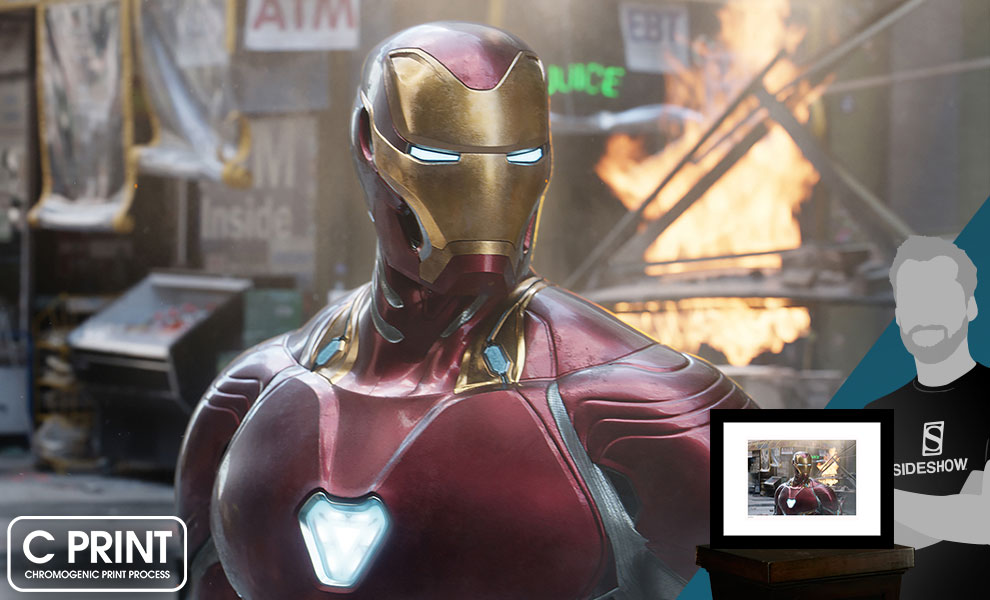 Gallery Feature Image of Iron Man NYC Art Print - Click to open image gallery