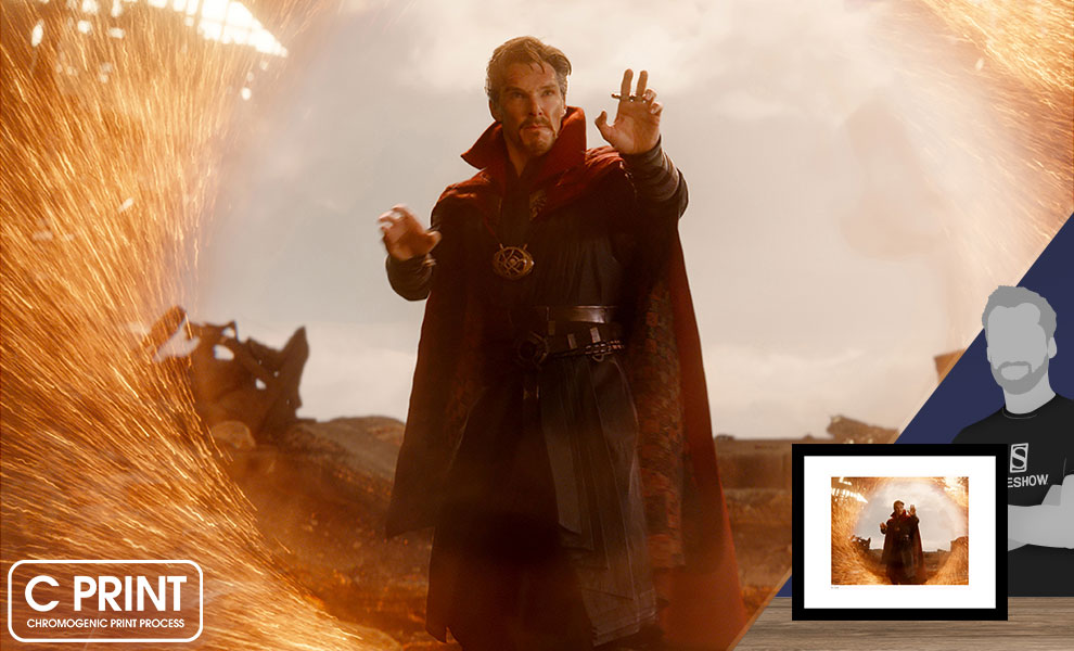 Gallery Feature Image of Doctor Strange on Titan Art Print - Click to open image gallery