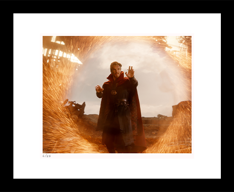 Classic Stills Doctor Strange on Titan Art Print