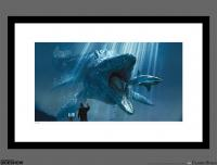 Gallery Image of The Mosasaurus Art Print