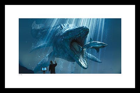 Classic Stills The Mosasaurus Art Print