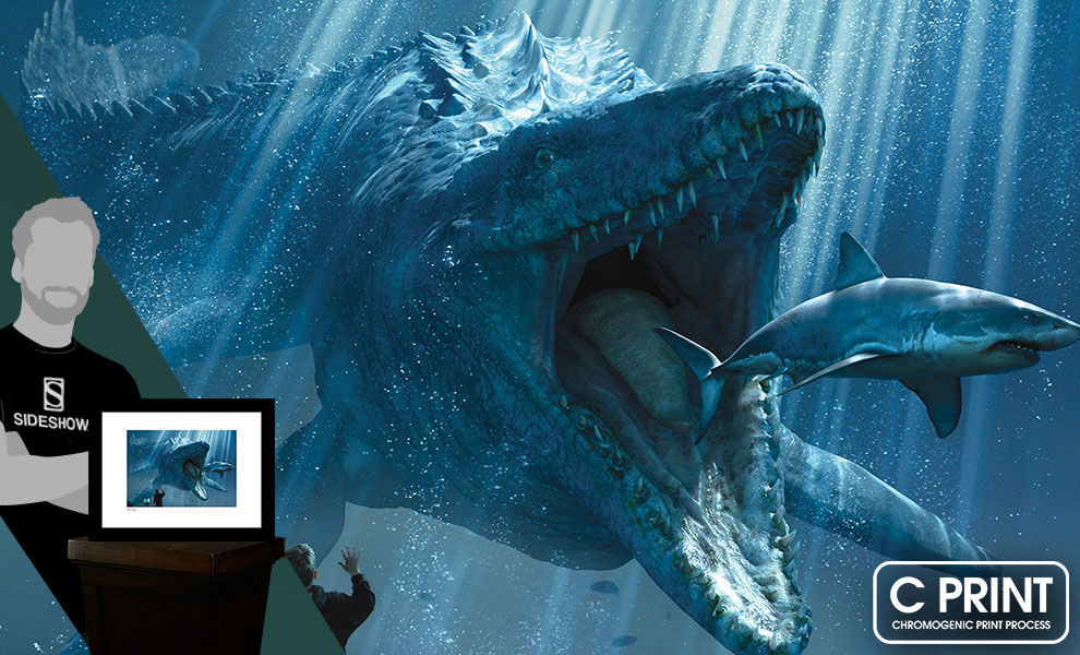 Gallery Feature Image of The Mosasaurus Art Print - Click to open image gallery