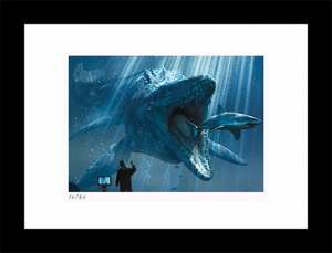 The Mosasaurus Art Print