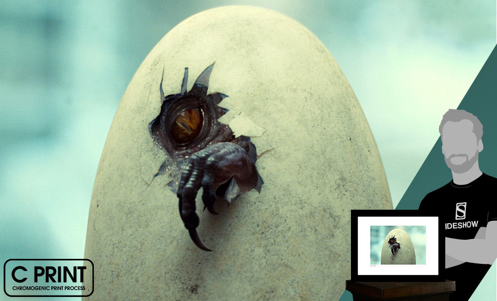 Gallery Feature Image of Indominus Rex Hatches Art Print - Click to open image gallery