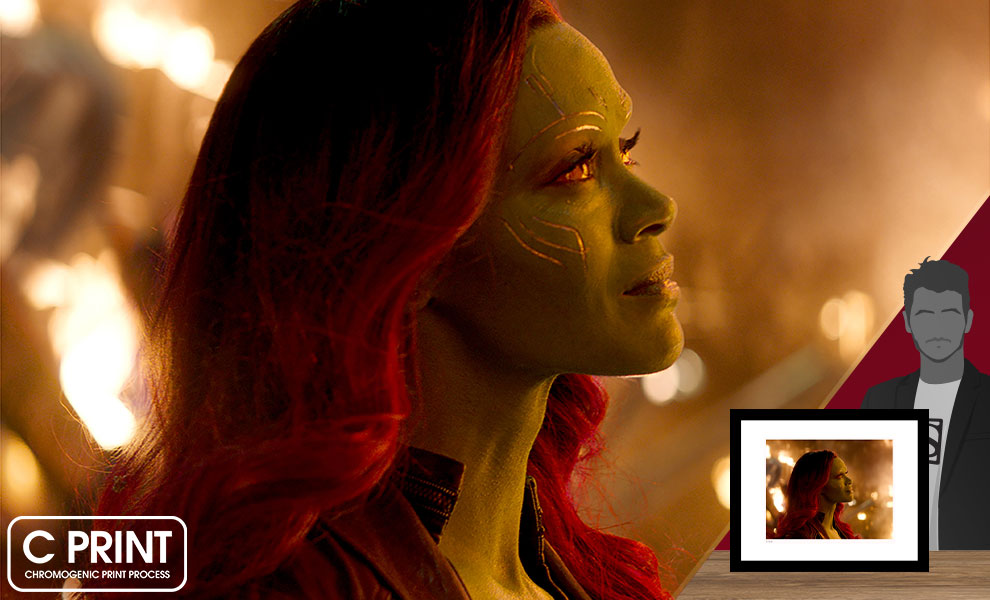 Gallery Feature Image of Gamora Art Print - Click to open image gallery
