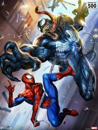 Gallery Image of Spider-Man vs Venom Art Print