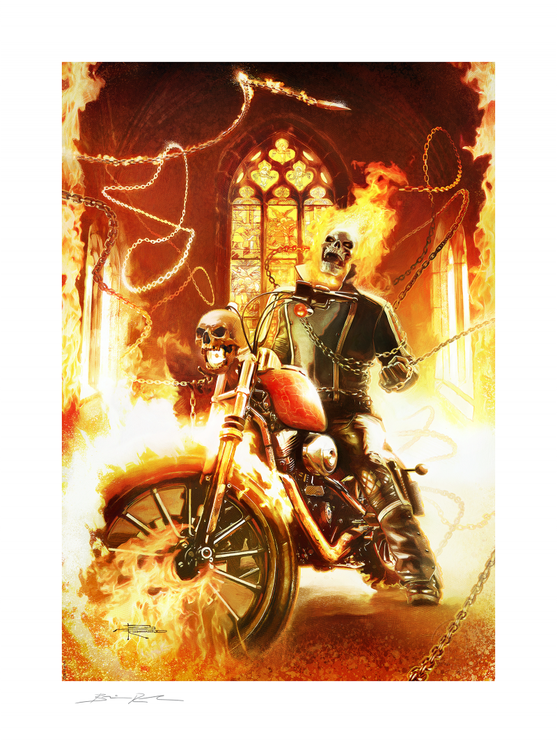 Ghost Rider Art Print -