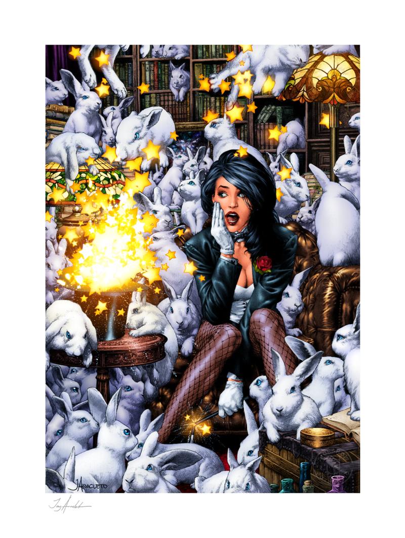 Zatanna Art Print -