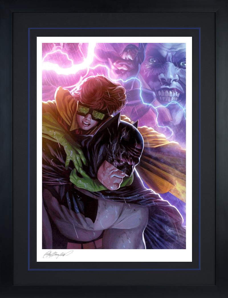 Batman & Robin: The Dark Knight Returns Art Print -