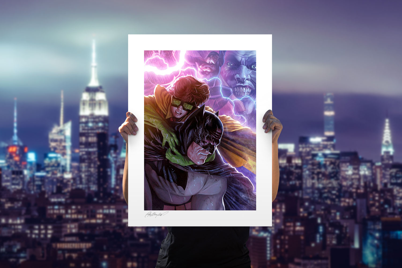 Batman & Robin: The Dark Knight Returns Art Print feature image