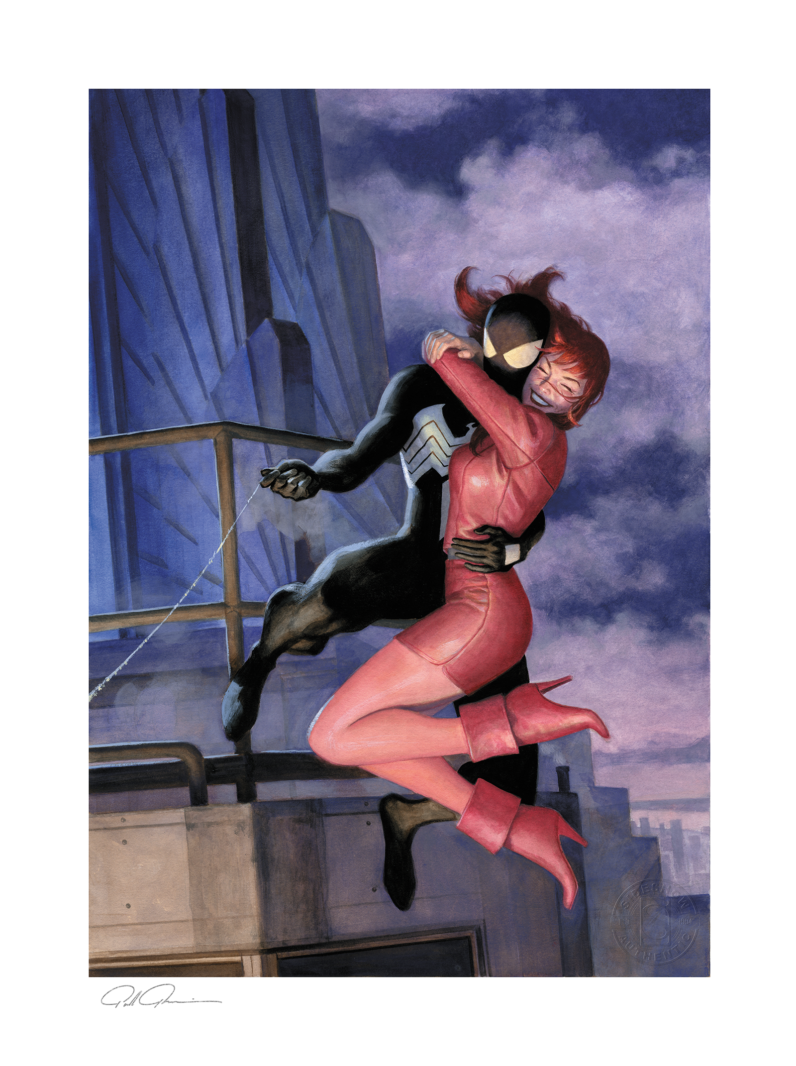 Sideshow Collectibles The Amazing Spider-Man #638: One Moment In Time Art Print