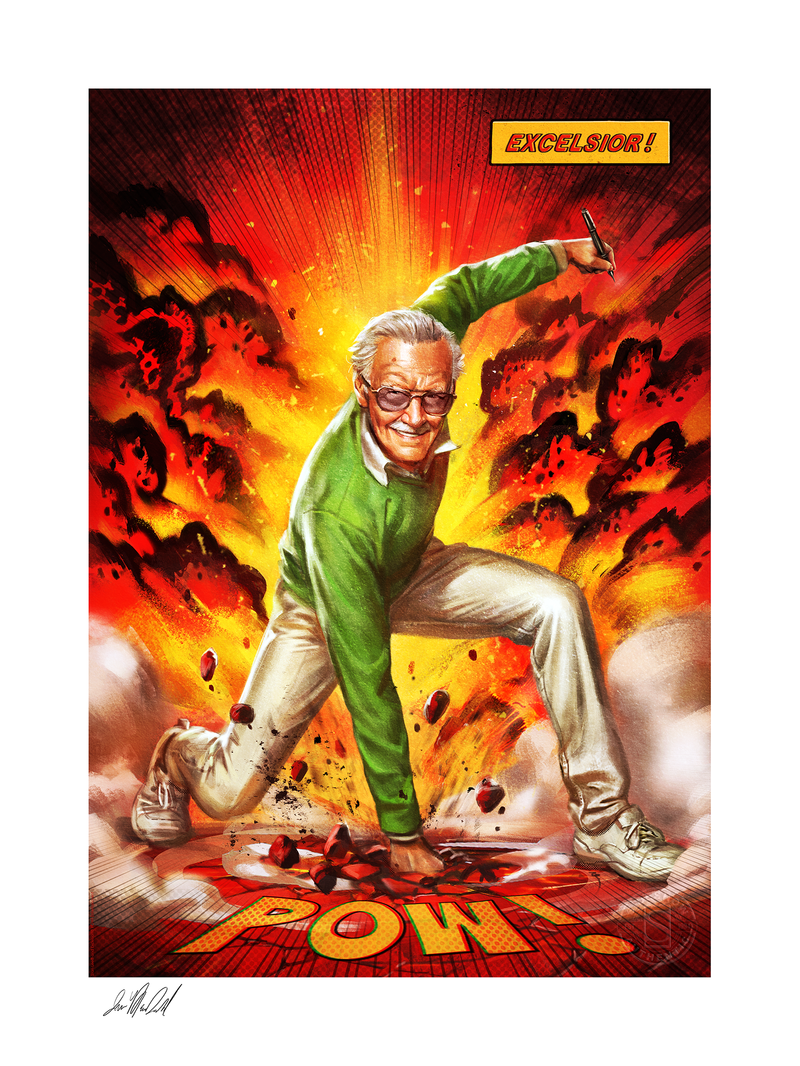Sideshow Collectibles Excelsior! Art Print