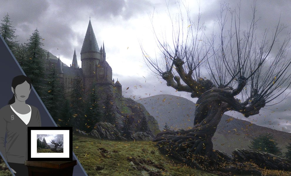 Gallery Feature Image of The Whomping Willow 2 Art Print - Click to open image gallery
