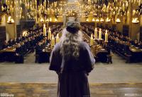 Gallery Image of Dumbledore Addresses the Great Hall Art Print