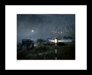 Carriages Approach Hogwarts™ Art Print