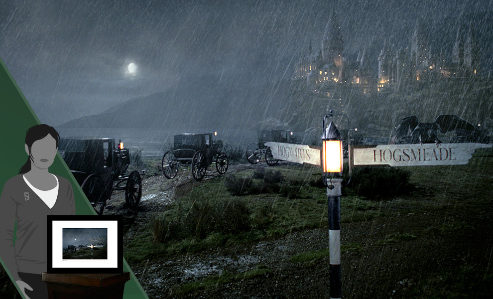 Gallery Feature Image of Carriages Approach Hogwarts™ Art Print - Click to open image gallery