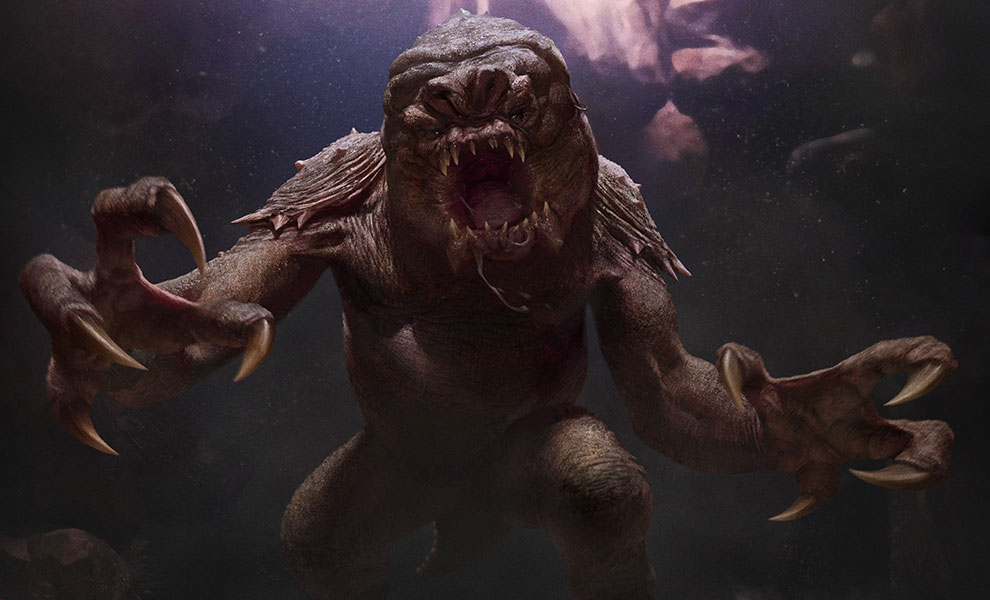 Gallery Feature Image of The Rancor™ Art Print - Click to open image gallery