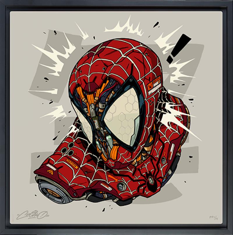 Spider-Man MECHASOUL Art Print -