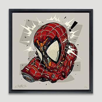 Spider-Man MECHASOUL Art Print