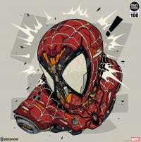 Gallery Image of Spider-Man MECHASOUL Art Print
