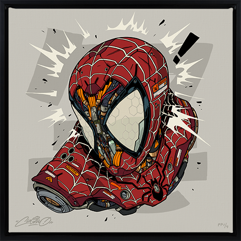 Sideshow Collectibles Spider-Man MECHASOUL Art Print