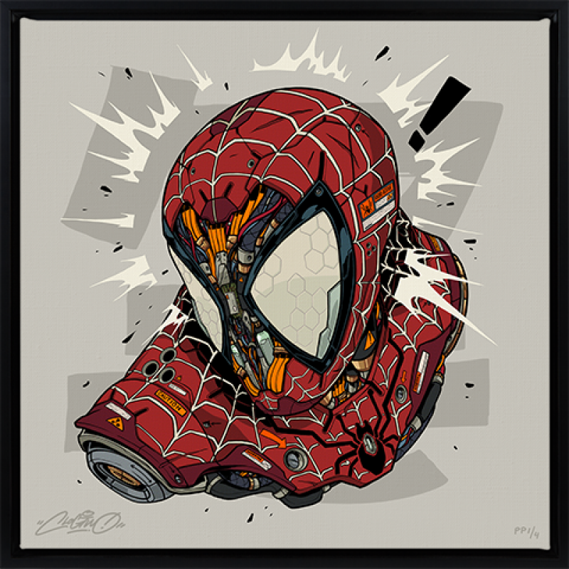 Spider-Man MECHASOUL Art Print -