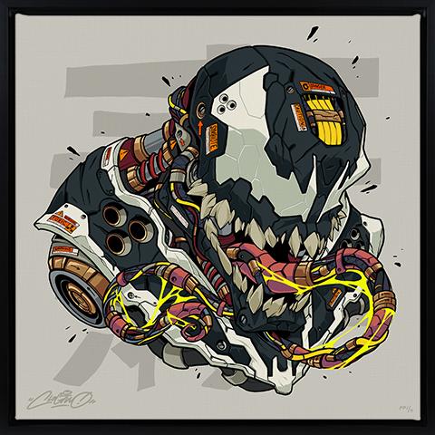 Sideshow Collectibles Venom MECHASOUL Art Print