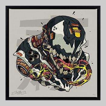 Venom MECHASOUL Art Print