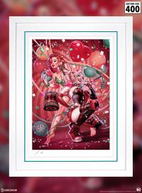 Gallery Image of Harley Quinn & Poison Ivy Art Print