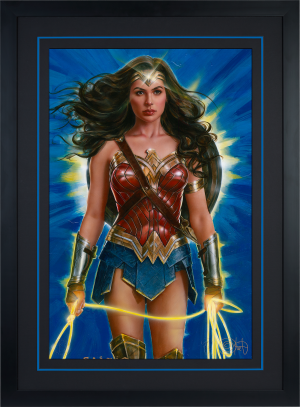Wonder Woman: Lasso of Truth Art Print