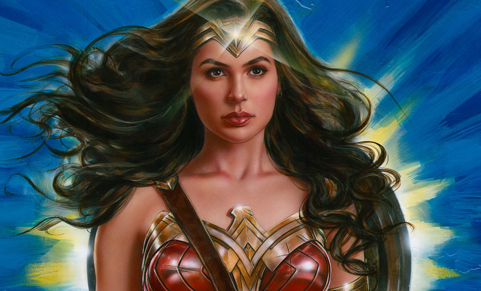 Gallery Feature Image of Wonder Woman: Lasso of Truth Art Print - Click to open image gallery