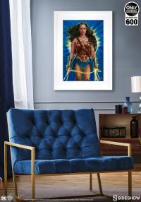 Gallery Image of Wonder Woman: Lasso of Truth Art Print