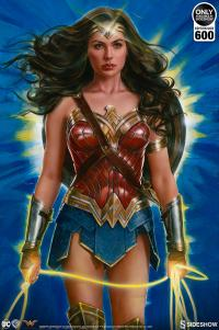 Gallery Image of Wonder Woman: Lasso of Truth Art Print